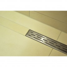 Douchedrain RVS Stripe 50x7x6.7cm