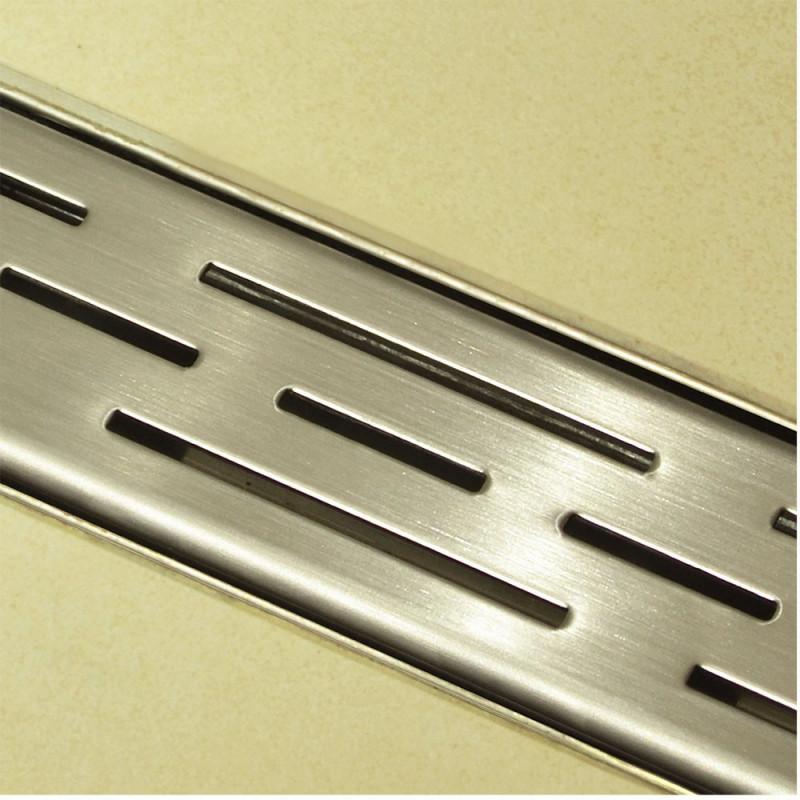 Douchedrain RVS Stripe 130x7x6.7cm