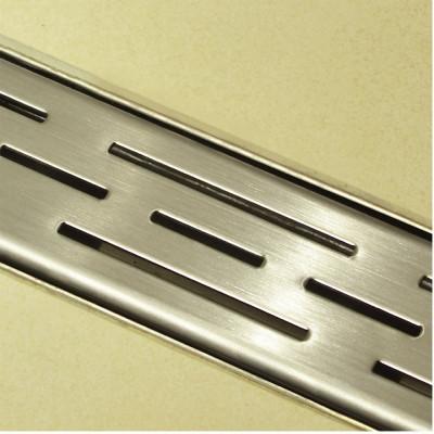 Douchedrain RVS Stripe 140x7x6.7cm