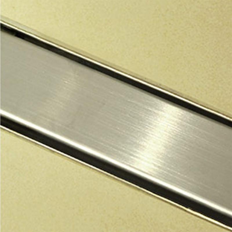 Douchedrain RVS Vlak 90x7x6.7cm