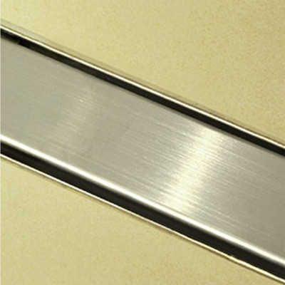 Douchedrain RVS Vlak 100x7x6.7cm
