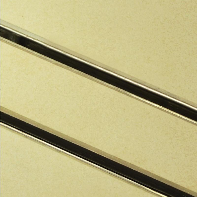 Douchedrain RVS Inlegbaar 160x7x6.7cm