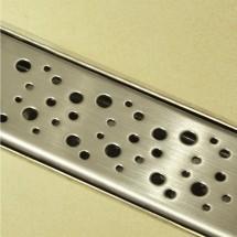 Douchedrain RVS Dots 70x7x6.7cm