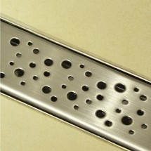 Douchedrain RVS Dots 90x7x6.7cm