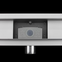Douchedrain RVS Dots 150x7x6.7cm