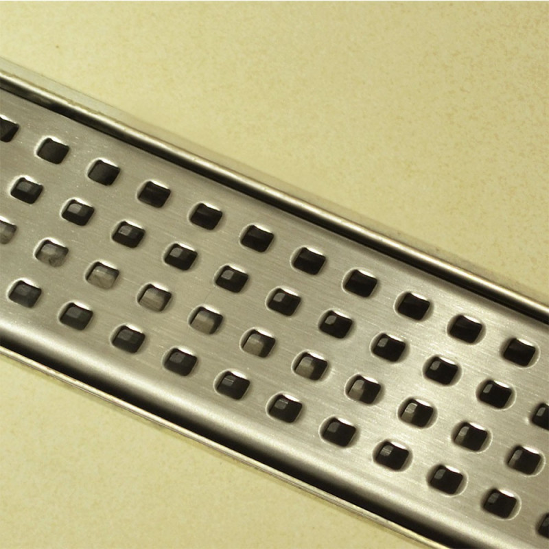 Douchedrain RVS Blocks 120x7x6.7cm