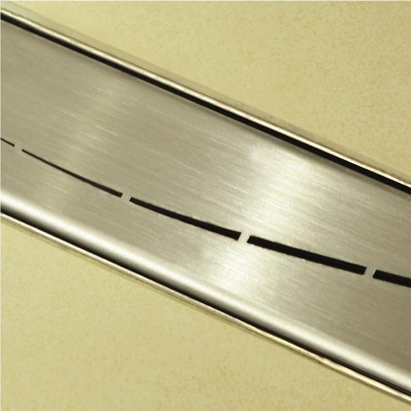 Douchedrain RVS Wave140x7x6.7cm