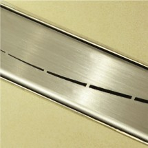 Douchedrain RVS Wave 160x7x6.7cm
