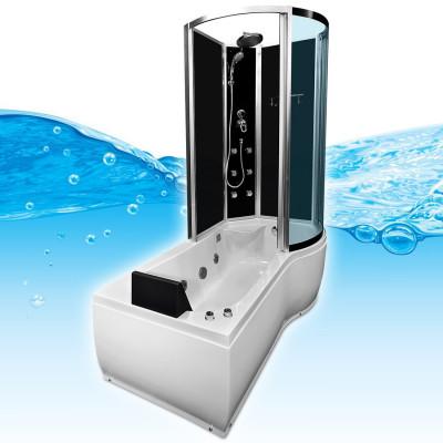 Douche Bad Whirlpool Combi 170x98x215CM Torino