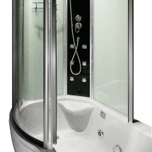 Douche- Bad- Whirlpool Combinatie Orso 170 x 98 x 215 cm