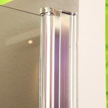 Nis Douchedeuren Helder Glas 140 x 195 CM Sani