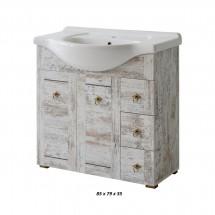 Prachtige badkamermeubel Monalisa