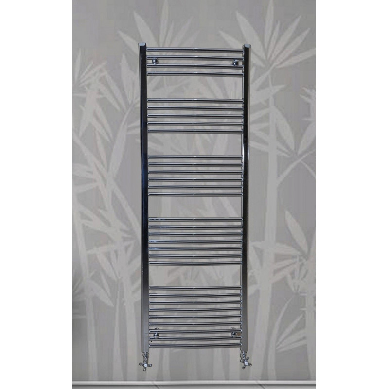 Handdoekradiator Chroom 100 x 60 cm