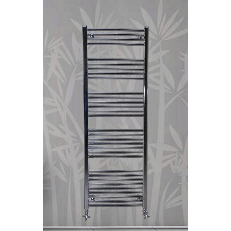 Handdoekradiator Chroom 120 x 60 cm