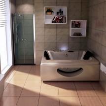 Jacuzzi Luxury Crema 180x90x55cm