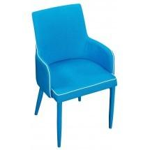 Eetkamerstoel Torino Turquoise blauw