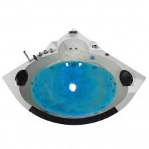 Whirlpool Bad White Pearl 140X140X65CM
