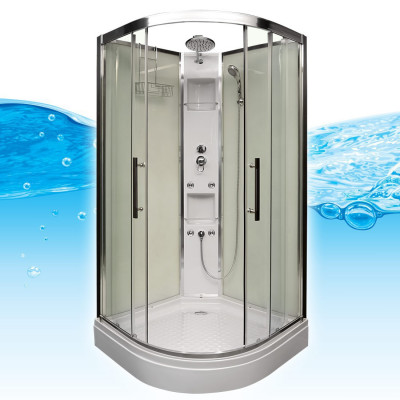 Douchecabine Tresto 100X100X215 Mat Glas