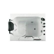 Seniorenbad Dublin 100 x 78 x 205 cm Whirlpool