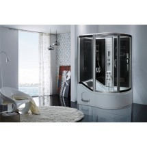 Douche-Bad Combinatie Luxor 150x90x218cm