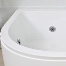 Whirlpool Mirna Links 180x120x65cm
