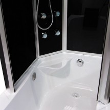 Douche- Bad- Combinatie Anzu 170 x 98 x 215 cm