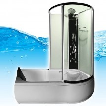 Douche- Bad- Combinatie Alani 170 x 98 x 215 cm