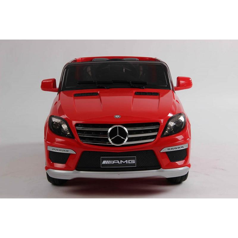 elektrische speelgoed kinderauto accu auto mercedes ml63 amg rood. Black Bedroom Furniture Sets. Home Design Ideas