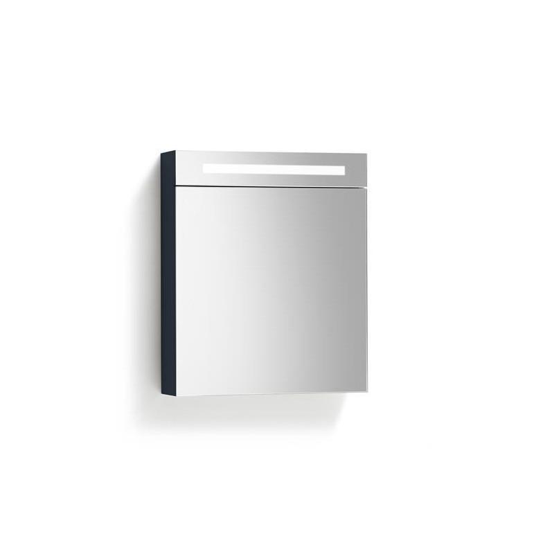 Spiegelkast 80x70cm Hoogglans Antraciet