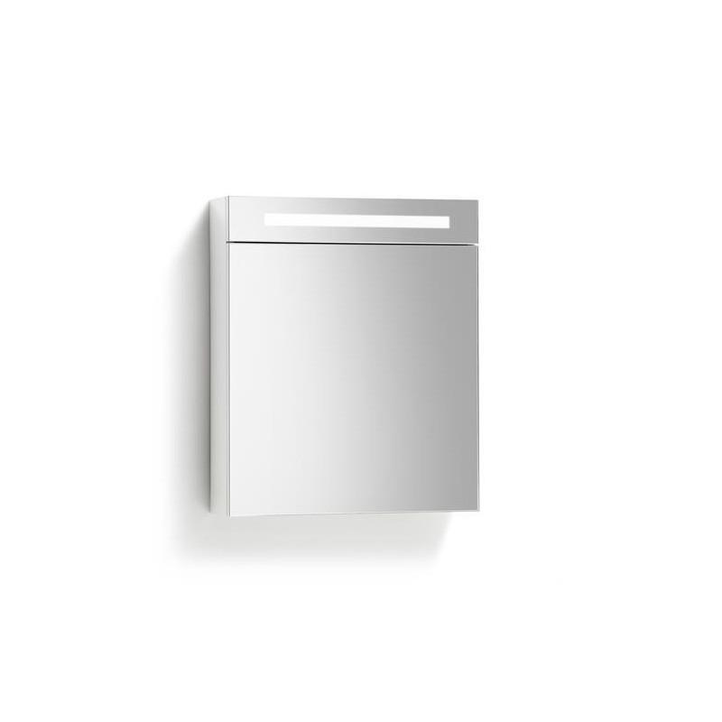Spiegelkast 58x70cm Hoogglans Wit