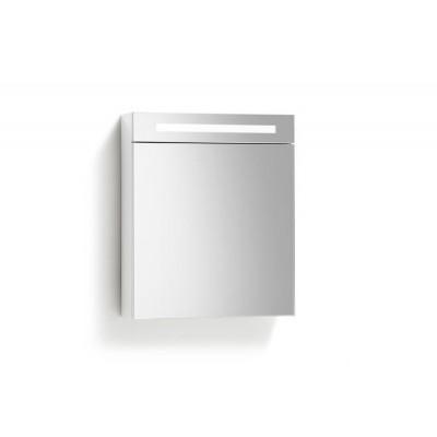 Spiegelkast 58x70cm Hoogglans Wit Rechts