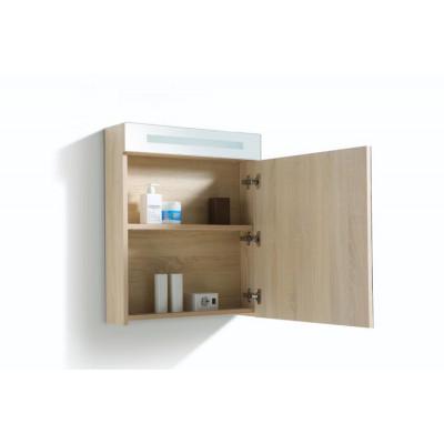 Spiegelkast 58x70cm Wood Rechts