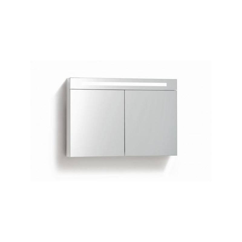 Spiegelkast 120cm Met stopcontact