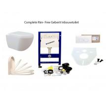 Complete Set Randloos Inbouwtoilet Geberit