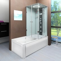 Douche- Bad Combinatie Loena-L 180x90x222CM