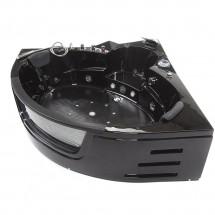 Whirlpool Bad Luxury Zwart 157X157X65CM