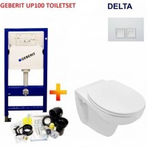 GEBERIT UP100 TOILETSET