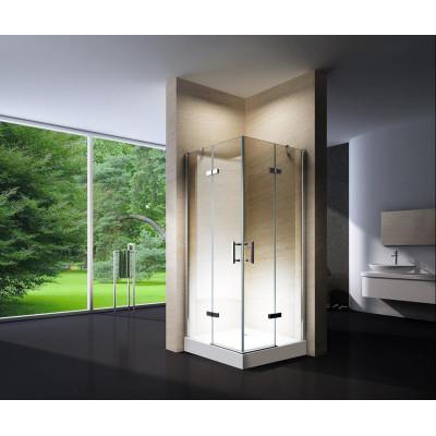 Douchecabine 90x90CM Vierkant Auro HB- Helder Glas