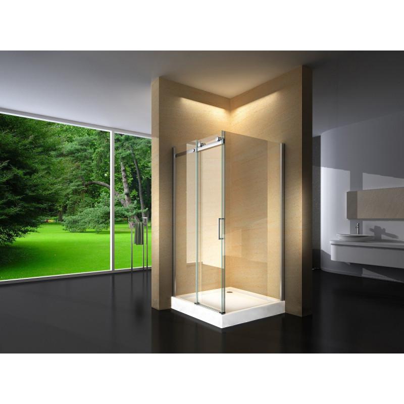 Douchecabine 100x100CM Vierkant Evi HB- Helder Glas