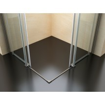 Douchecabine 90x90CM Vierkant Vivo- Helder Glas