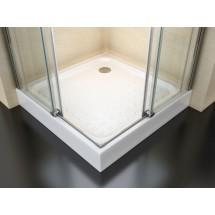 Douchecabine 80x80CM Vierkant Vivo HB- Helder Glas