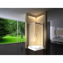 Douchecabine 100x100CM Vierkant Vivo HB- Helder Glas