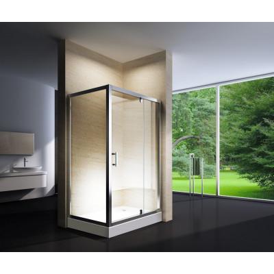 Douchecabine 120X90 Rechthoekig Marjo HB- Helder Glas