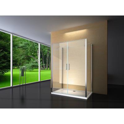Douchecabine 120X80 Rechthoekig Idaro LB- Helder Glas
