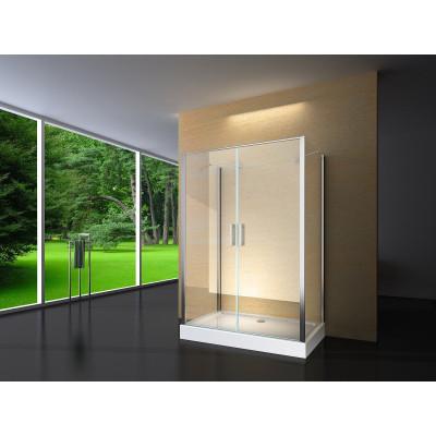 Douchecabine 120X80 Rechthoekig Idaro HB- Helder Glas