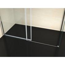 Douchecabine 110x70CM Rechthoekig Vita- Helder Glas