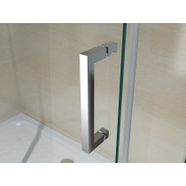 Douchecabine 100x90CM Rechthoekig Vita- Helder Glas