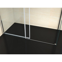 Douchecabine 120x90CM Rechthoekig Vita- Helder Glas
