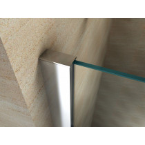Douchecabine 110x100CM Rechthoekig Vita- Helder Glas