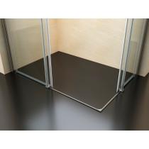 Douchecabine 100x80CM Vierkant Vivo- Helder Glas - Rechts